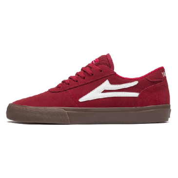 Lakai Manchester Shoes - Red Gum Suede