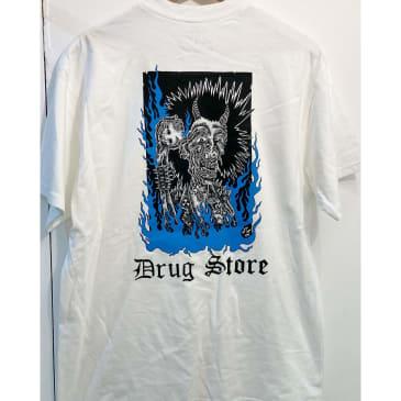 Drug Store Blue Demon pocket tee