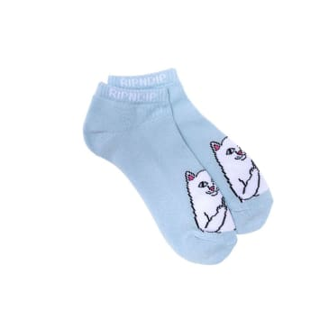 Ripndip Lord Nermal Ankle Socks - Baby Blue