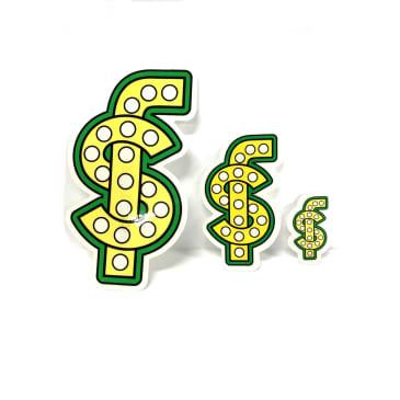 Shake Junt Money Sign Sticker