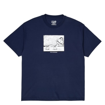 Polar Skate Co Bounce Tee - Rich Navy