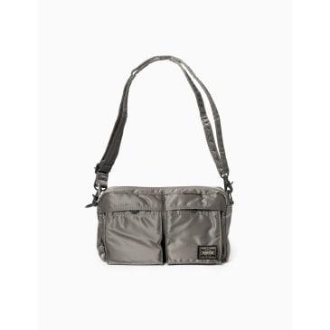 Porter Yoshida & Co Tanker Shoulder Bag - Silver Grey