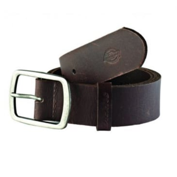 Dickies - Eagle Lake Leather Belt - Brown