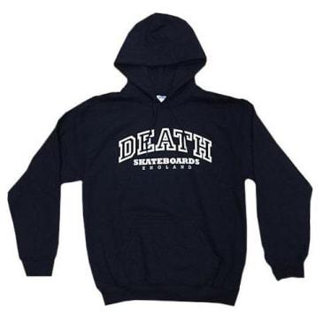 Death Skateboards College Hoody - Black