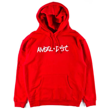 Thrasher Angel Dust Hoodie - Red