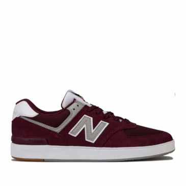 New Balance Numeric AM574 Skate Shoes - Burgundy