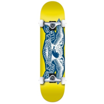 Anti Hero Copier Eagle Yellow Complete Skateboard - 7.5""