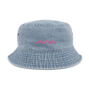 The Good Company - Chill Wave Bucket - Light Jean/Pink