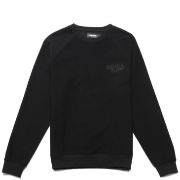 Chrystie NYC Reversed French Terry crewneck - Black