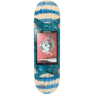 Madness Alla Popsicle Slick Blue Swirl Deck 8.625""