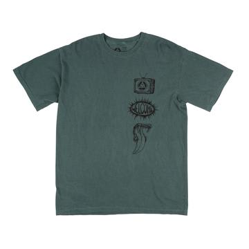 Welcome Trey Garment-Dyed T-Shirt - Spruce