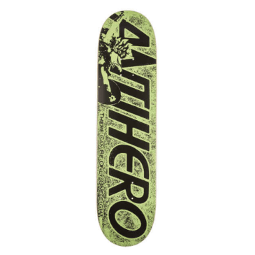 Anti Hero PP Highlander Green Deck - 8.06""