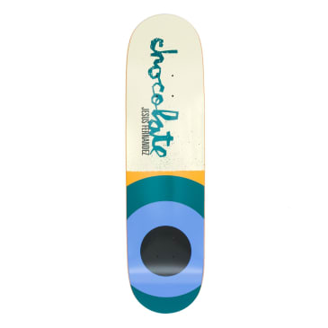 Chocolate Giant Flags Jesus Fernandez Deck - 8.25""
