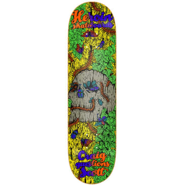 """Heroin Skateboards - Craig Questions Illusion Deck 8.5"""" Wide"""
