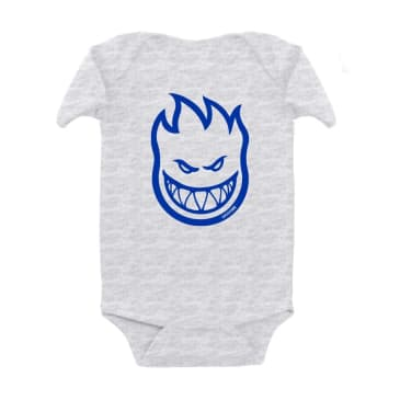 SPITFIRE Toddler Bighead Onesie Ash Heather/Blue