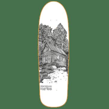 Heroin Skateboards Cabin Series 2 Deer Man of Dark Woods Shaped Skateboard Deck - 9.25