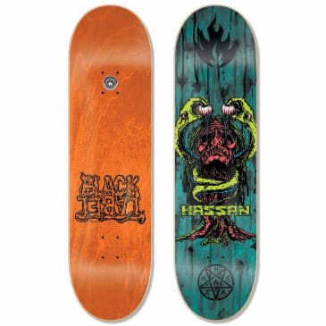 Black Label Omar Hassan Blood & Guts Assorted Stain Deck 8.38″