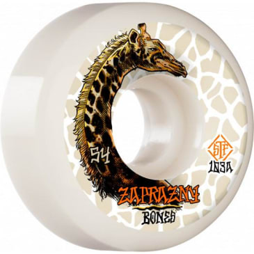 Bones - Zaprazny STF V5 Giraffe II 54mm White Wheels