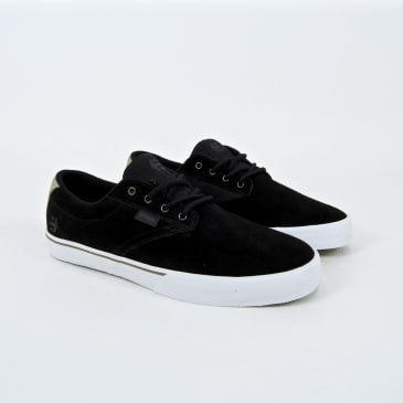 Etnies Jameson Vulc Skate Shoes - Black / White / Silver