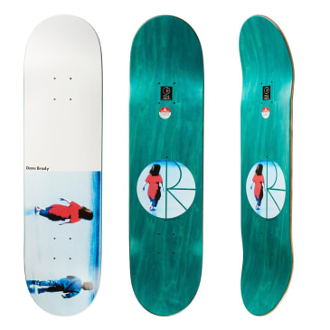 Polar Skate Co Dane Brady Hannah Skateboard Deck - 8.375""