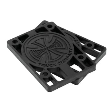 "Independent 1/8"" Riser Pads Black"
