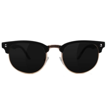 Glassy - Glassy Morrison Sunglasses | Black & Gold