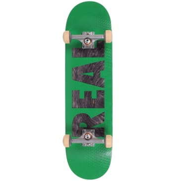 Real Premium Complete Skateboard Bold Series Green 8.38