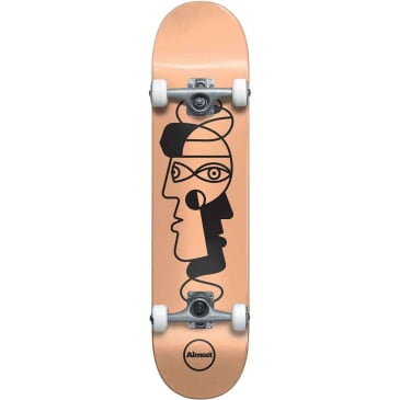 """Almost Twisted Outline Youth Resin Complete Skateboard - 7.25"""""""