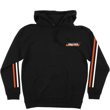 Bronson Speed Co Racing Stripe Hoodie - Black