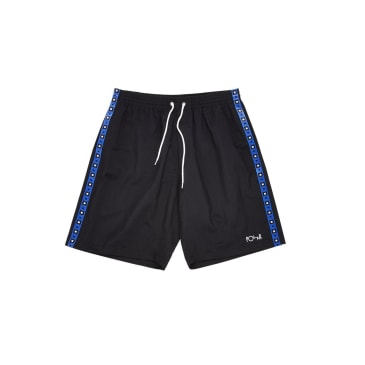 Polar Skate Co Square Stripe City Swim Shorts - Black