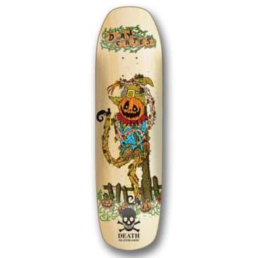 Death Skateboards Dan Cates Pumpkin Skateboard Deck - 9.00 Pool Shape