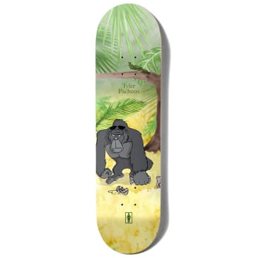 "Girl Skateboards - Tyler Pacheco Jungle Beers Deck 8.375"" Wide."