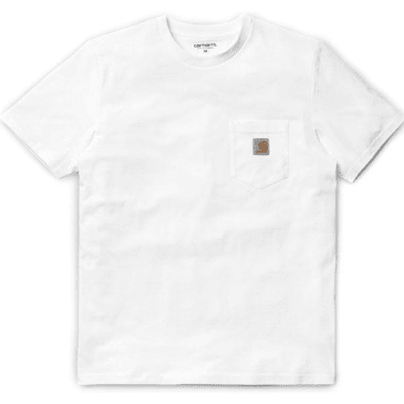 Carhartt WIP Pocket T-Shirt - White