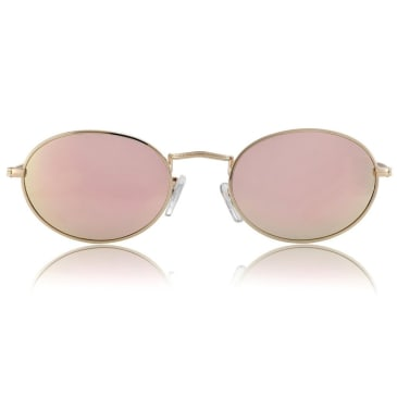 Glassy Campbell Polarized Gold/Pink Mirror