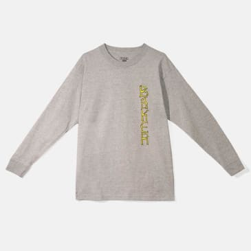 Baker Skateboards Aggro Long Sleeve Tee Grey