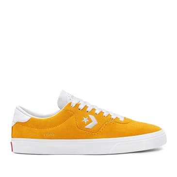 Converse CONS Louie Lopez Pro Low Top Shoes - Gold / Enamel Red