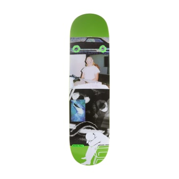 Quasi CBD Car Green Skateboard Deck - 8.5""