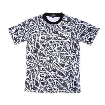 LAKAI X HEEM NAILS TEE - Black / White