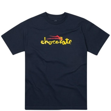 Lakai x Chocolate Flare T-Shirt - Navy