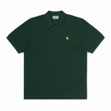 Carhartt WIP Chase Pique S/S Polo Green