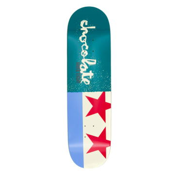 Chocolate Giant Flags Raven Tershay Deck - 8.5""