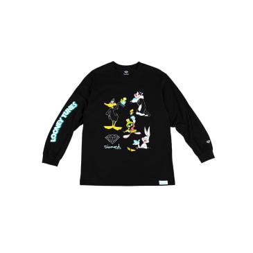 Diamond X Looney Tunes Long Sleeve (Black)