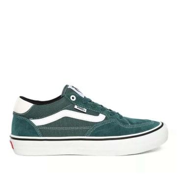 Vans Rowan Pro Skate Shoes - Pine / White