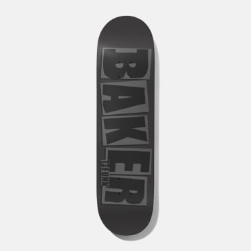 Baker Skateboards T-Funk Brand Name Grey Skateboard Deck - 8.5""