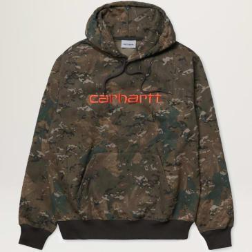Carhartt WIP Hooded Sweatshirt (Combi Camo)