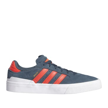 adidas Skateboarding Busenitz Vulc II Shoes - Legacy Blue / Solar Red / Cloud White