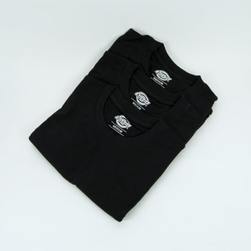 Dickies Plain T-Shirt Pack - Black