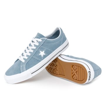 Converse One Star Pro OX Shoes - Azure Blue