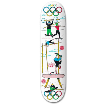 """The Drawing Boards No-Lympics Deck - 8.5"""""""