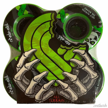 Powell Peralta Wheels Skate Aid ATF 59mm78A Green